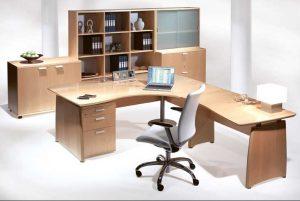 Armoire-basse-bureau-avec-etagere-armoire-bureau-et-table-bois-bureau-aussi-bien-que-chaise-moderne-bureau-pour-idée-deco-maison-interieur-bureau-conception-style